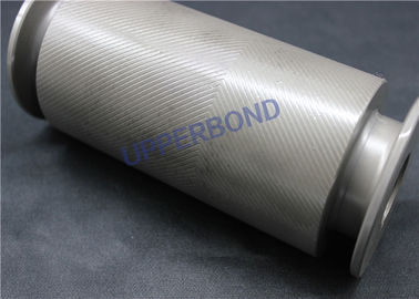 China Brand Logo Customized Alloy Steel Embossing Roller For Cigarette Foil Paper factory